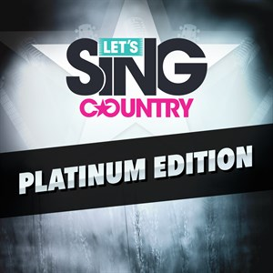 Let's Sing Country - Platinum Edition Xbox One