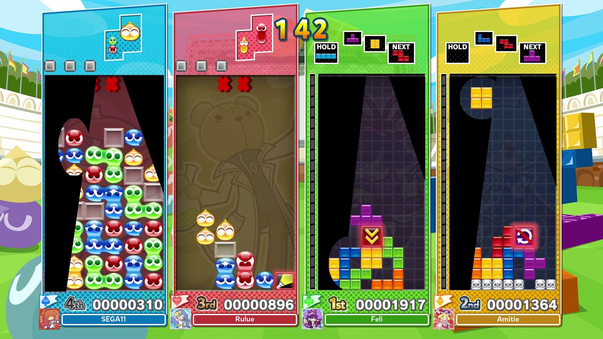 Скриншот №11 к Puyo Puyo™ Tetris® 2