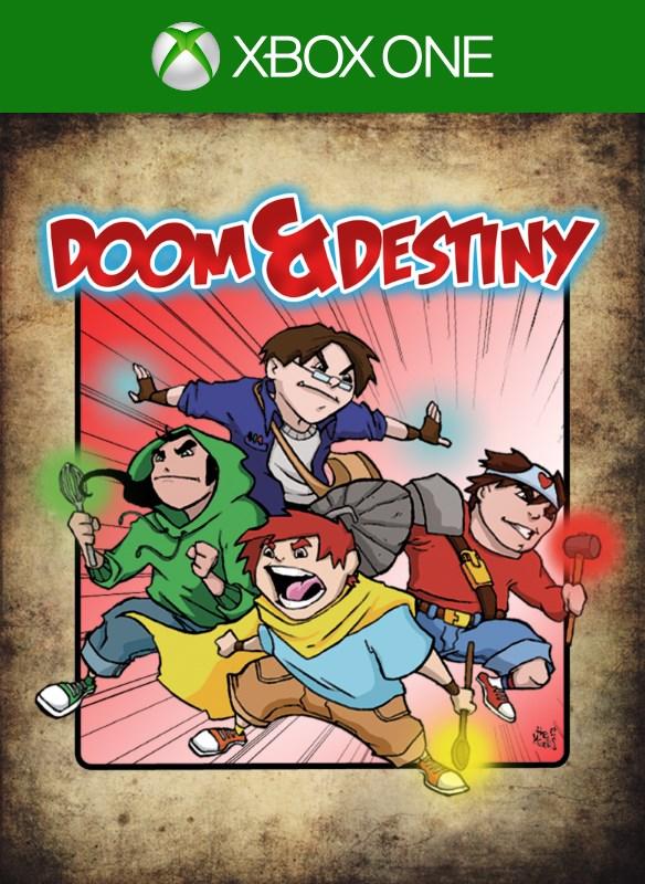 Doom and Destiny boxshot