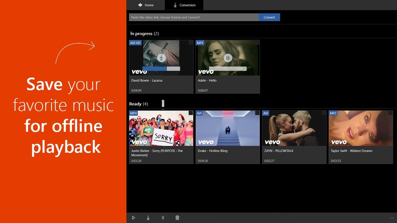 Converter for YouTube by Flvto.com