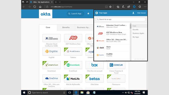 Get Okta Browser Plugin - Microsoft Store