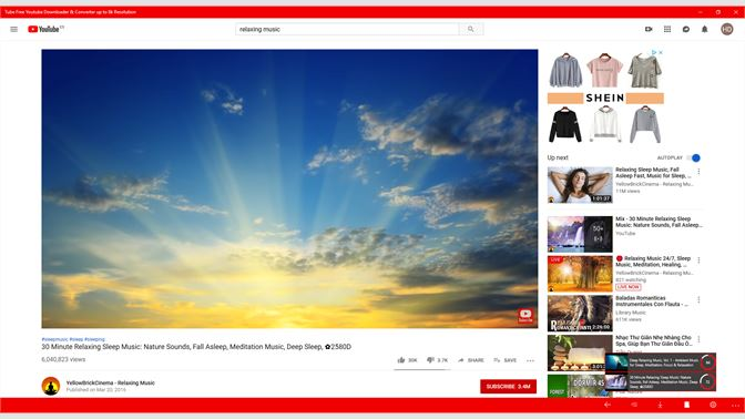 Get Tube Free Youtube Downloader & Converter up to 8k Resolution
