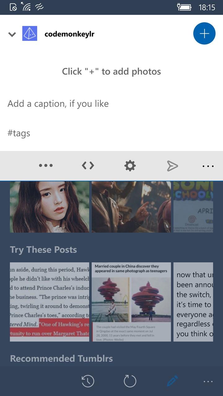 Tumblr dating app Hvad Koster incontri SIDER