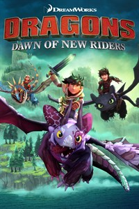 Carátula para el juego DreamWorks Dragons Dawn of New Riders de Xbox 360