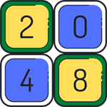 2048 Colorful Logo