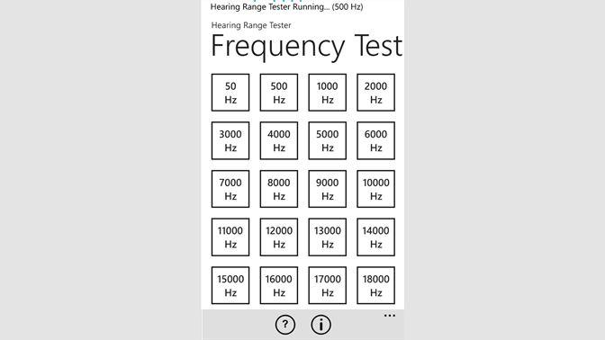 Buy Hearing Range Tester - Microsoft Store