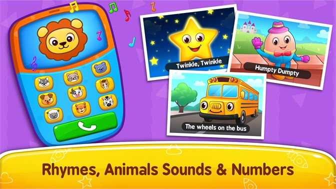 Get Baby Games: Piano, Baby Phone, First Words - Microsoft Store en-GB