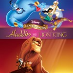 Disney Classic Games: Aladdin and The Lion King Logo