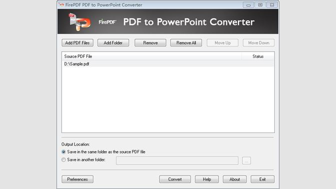 Buy PDF to PowerPoint Converter Full Version - FirePDF