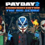 PAYDAY 2 - CRIMEWAVE EDITION - THE BIG SCORE Game Bundle Logo