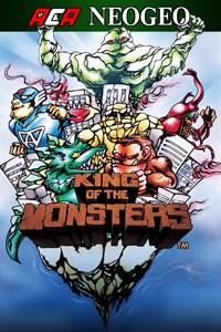 Carátula para el juego ACA NEOGEO KING OF THE MONSTERS de Xbox 360