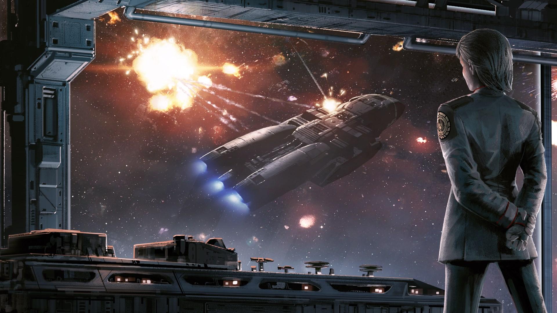battlestar galactica deadlock sin and sacrifice gameplay