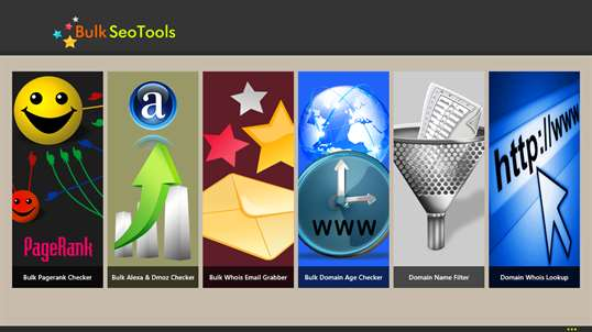 Bulk Seo Tools screenshot 1