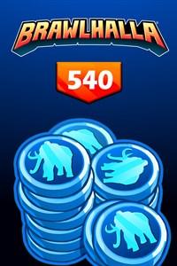 BRAWLHALLA - 540 MAMMOTH COINS