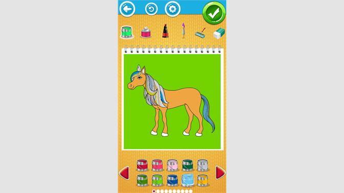 At Boyama Oyunları çocuklar Için Al Microsoft Store Tr Tr