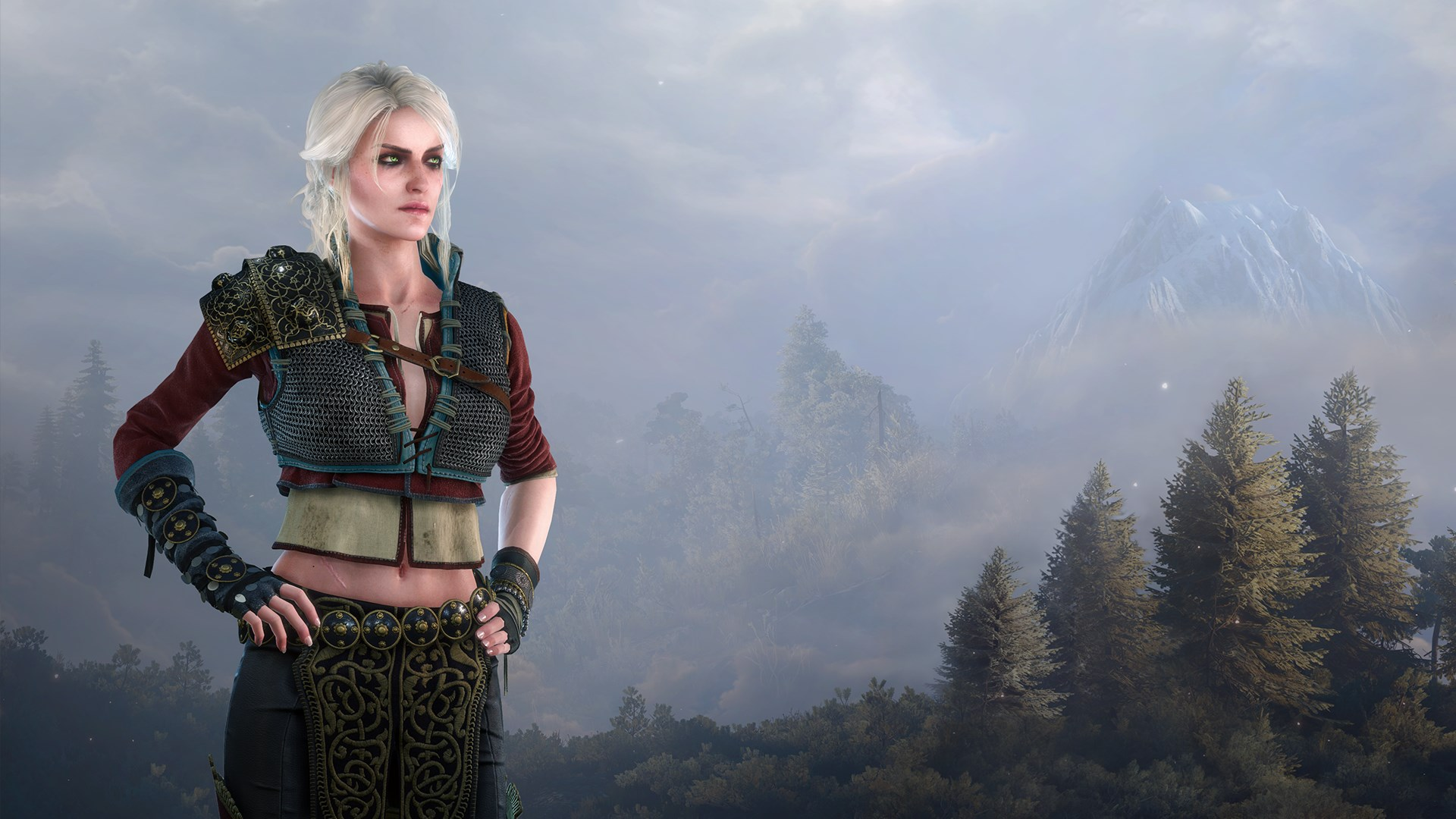 Alternative Look for Ciri