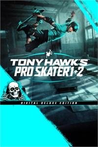 Carátula para el juego Tony Hawk's Pro Skater 1 + 2 - Digital Deluxe Edition de Xbox 360