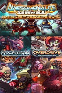 Carátula del juego Ultimate Overdrive Pack - Awesomenauts Assemble! Game Pack