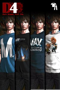 D4: Dark Dreams Don't Die - Max: The Curse of Brotherhood Clothing Set