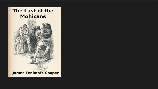 essay last mohicans Excerpt from essay : fenimore cooper, last of the mohicans the theme of james fenimore cooper's the last of the mohicans would seem to be containted not only in the title of the novel, but also in its subtitle: a narrative of 1757.