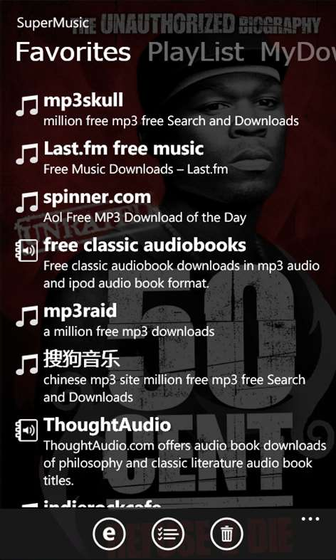 free music mp3 downloader Screenshots 1