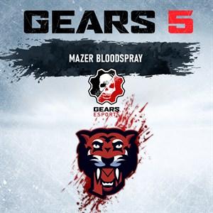 Mazer Gaming Coloured Blood Spray Xbox One