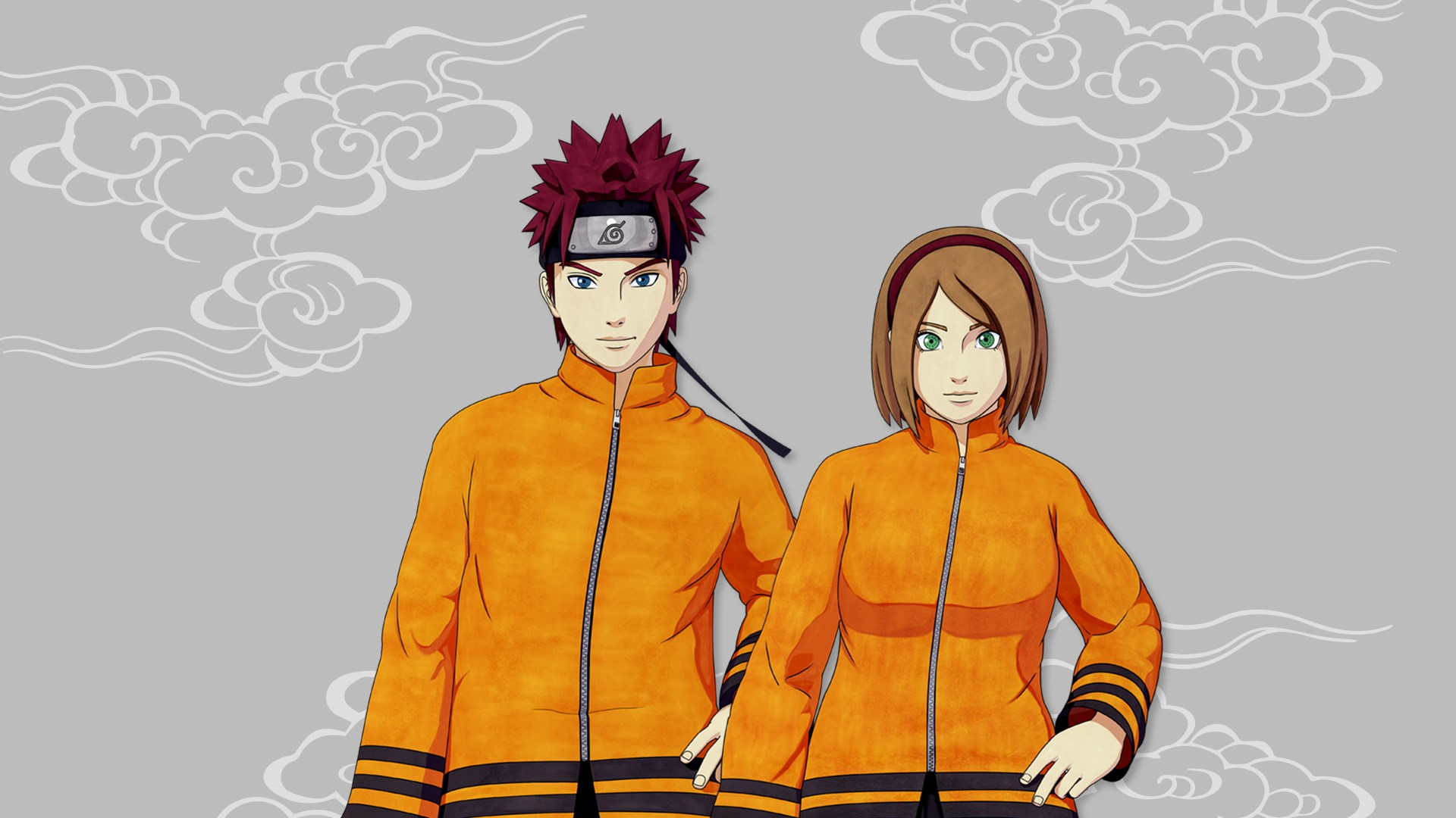 NTBSS: Seventh Hokage Costume (Gender-Neutral)