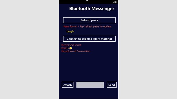 Get Bluetooth Messenger - Microsoft Store