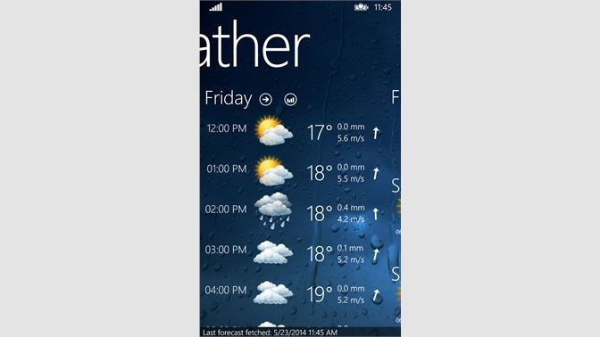Get Weather View - Microsoft Store