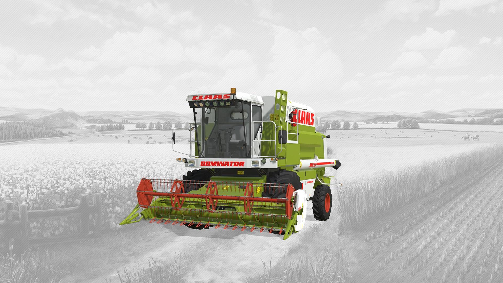 Farming Simulator 19 - CLAAS DOMINATOR 108 SL MAXI DLC