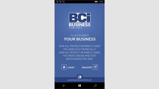 Get business cards info app microsoft store screenshot homepage screenshot dashboard screenshot business card template reheart Image collections