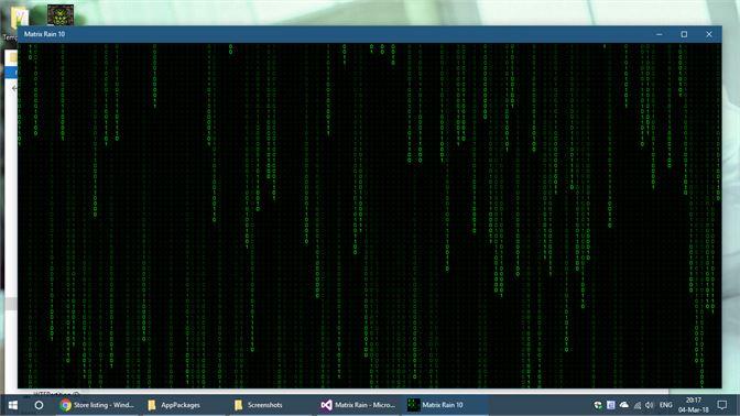 Get Matrix Rain 10 - Microsoft Store