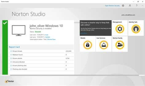 Norton Studio Screenshots 2