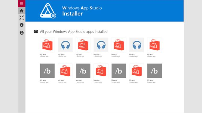 Get Windows App Studio Installer - Microsoft Store