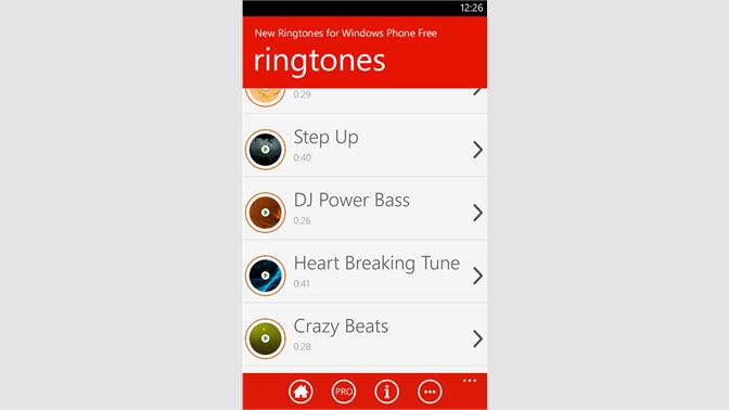Get New Ringtones for Windows Phone Free - Microsoft Store