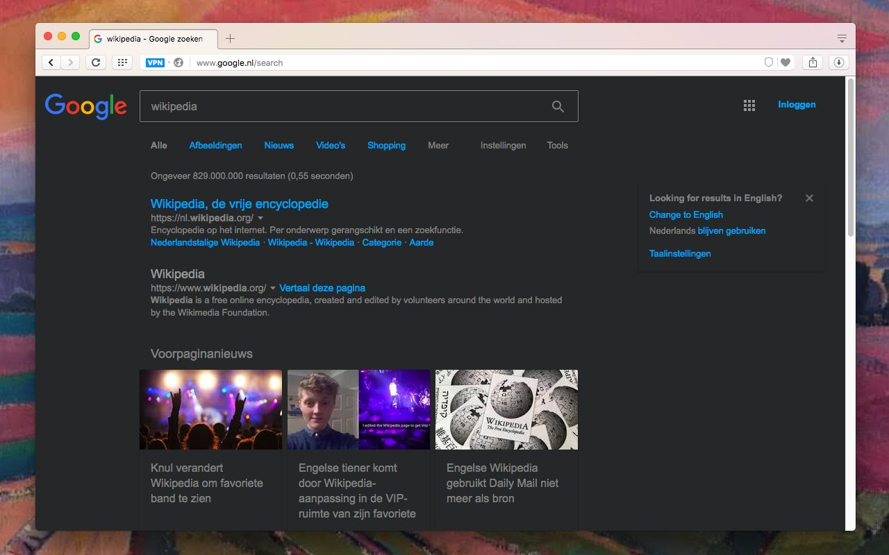 Dark Theme For Google Microsoft Edge Addons
