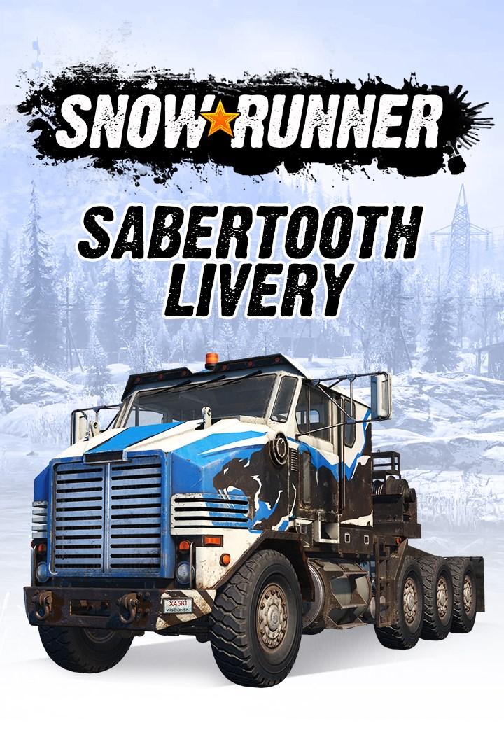 Скриншот №2 к SnowRunner - Derry Longhorn 4520 Sabertooth Livery