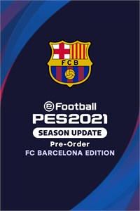 Pre-Order: eFootball PES 2021 SEASON UPDATE FC BARCELONA EDITION