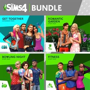 The Sims™ 4 Back to School 번들 – 모두 함께 놀아요, 로맨틱 가든 아이템팩, 즐거운 볼링 아이템팩, 피트니스 아이템팩 Xbox One
