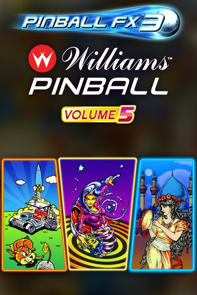 Pinball FX3 - Williams™ Pinball: Volume 5