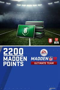 2200 Madden NFL 18 Ultimate Team Points