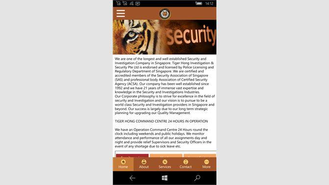 Купить Tiger Hong — Microsoft Store (ru-RU)