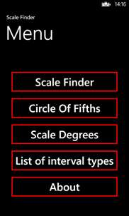 Scale Finder Lite screenshot 2