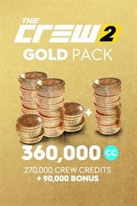 Pacote Créditos Crew Ouro para The Crew 2