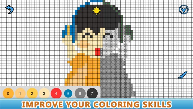 pixel art color by number app