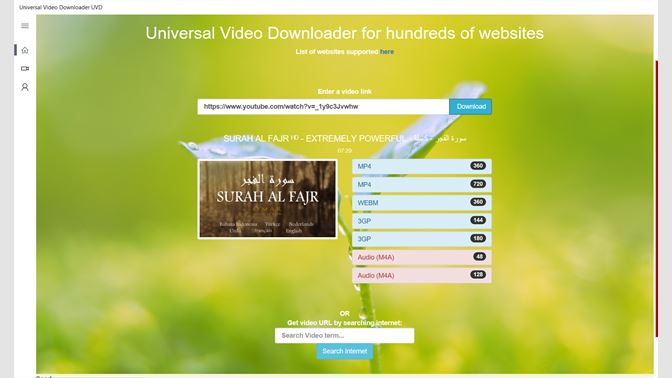 video download websites list for mobile