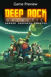 Carátula del juego Deep Rock Galactic (Game Preview)