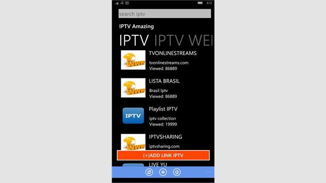 Get IPTV Amazing: M3U, XSPF Support - Microsoft Store