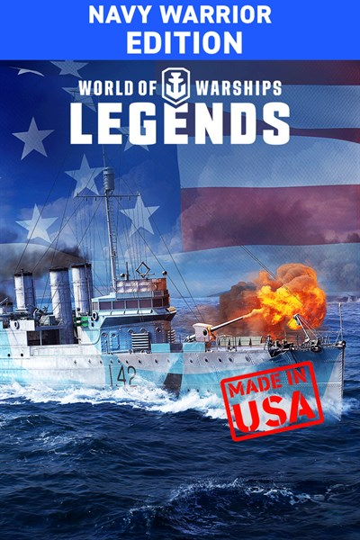 World of Warships: Legends. Navy Warrior