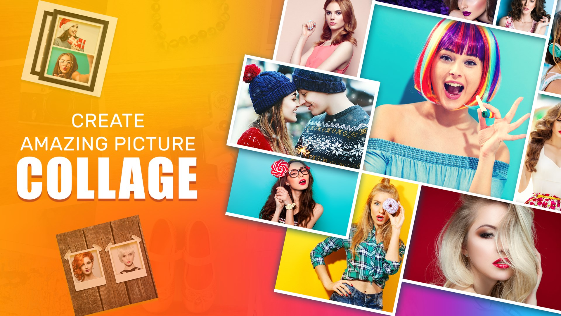 Get Pic Collage Maker Photo Editor Foto Collage Photo Grid